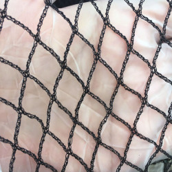 100m of 5m bird netting Black