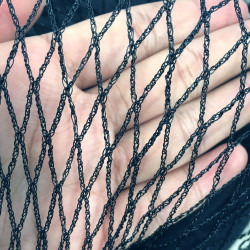 10m of 8m bird net Black 30GSM