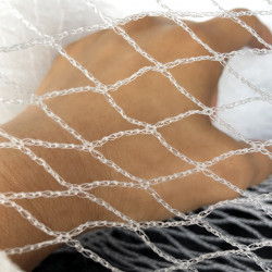 30m of 10m bird net White